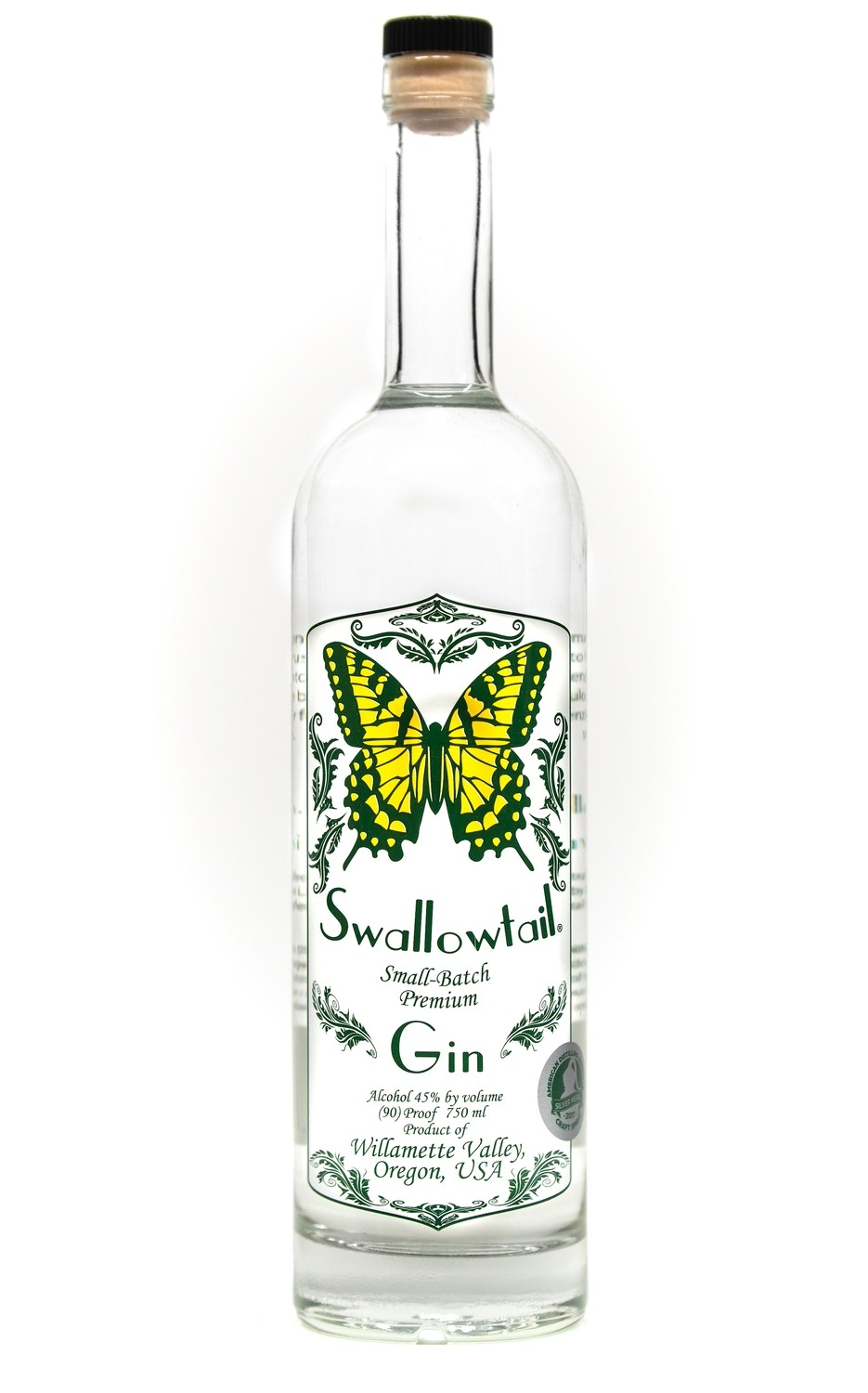 Swallowtail Small-Batch Premium Gin
