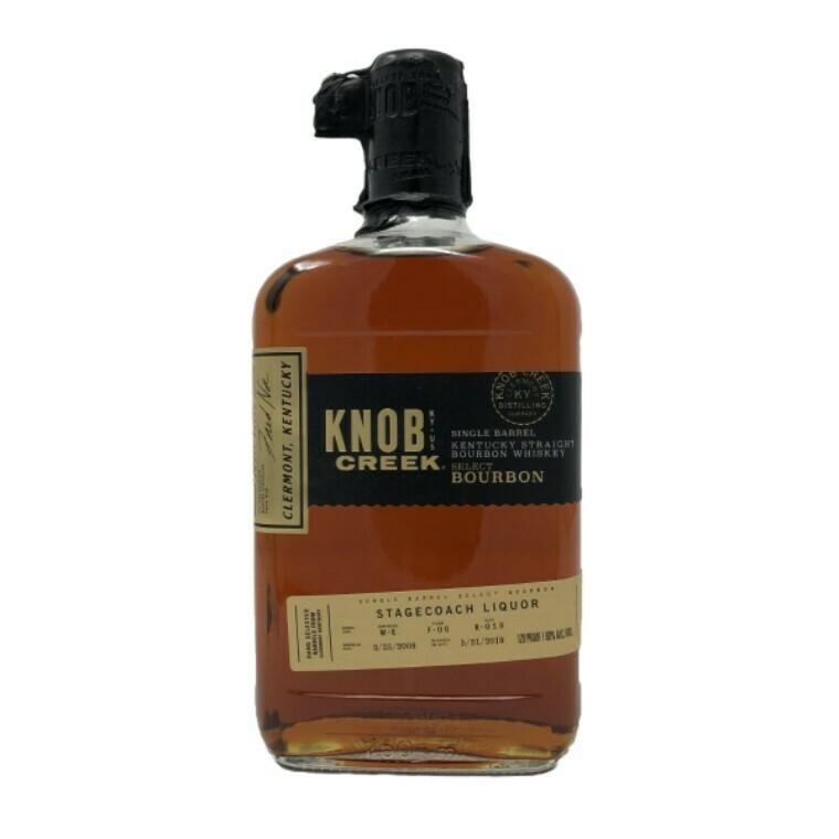Knob Creek Single Barrel Select Reserve Bourbon