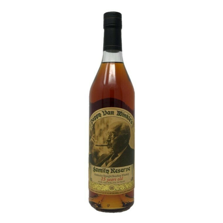 Pappy Van Winkle's Family Reserve 15 Year Kentucky Straight Bourbon Whiskey