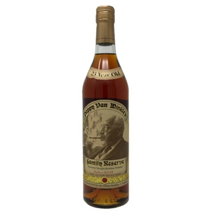 Pappy Van Winkle's Family Reserve 23 Year Old Kentucky Straight Bourbon Whiskey