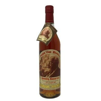 Pappy Van Winkle Family Reserve 20 Year Kentucky Straight Bourbon Whiskey