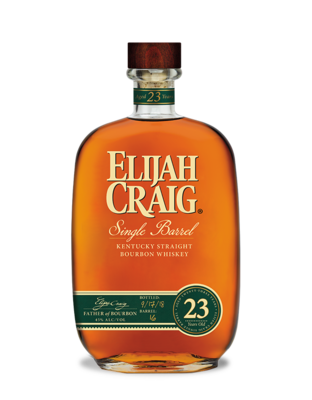 Elijah Craig 23 Year Single Barrel Kentucky Straight Bourbon Whiskey