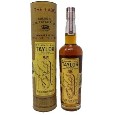 Colonel E.H. Taylor Amaranth Grain of the Gods Straight Kentucky Bourbon Whiskey
