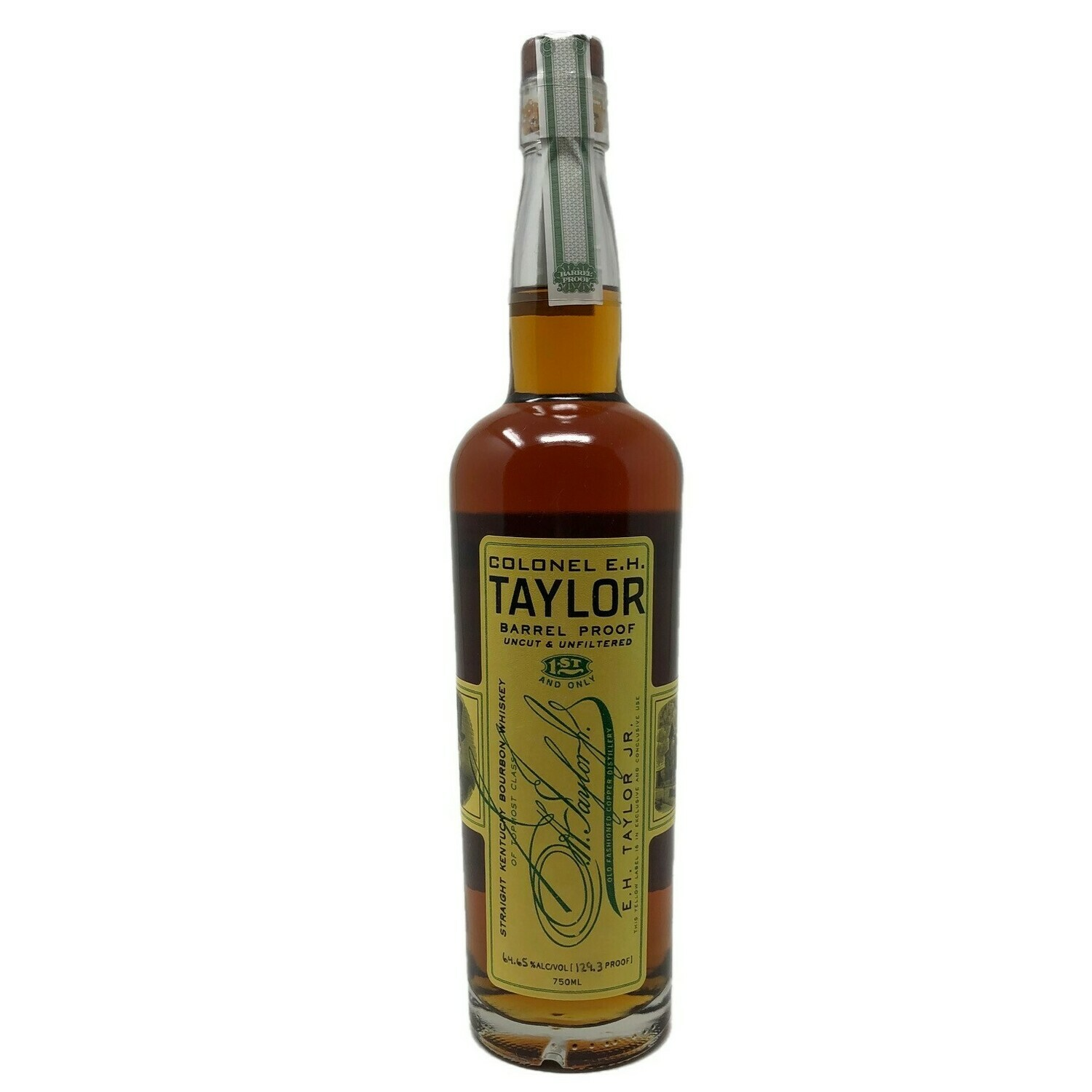 Colonel E.H. Taylor Barrel Proof Uncut & Unfiltered Straight Kentucky Bourbon Whiskey 129.3 Proof