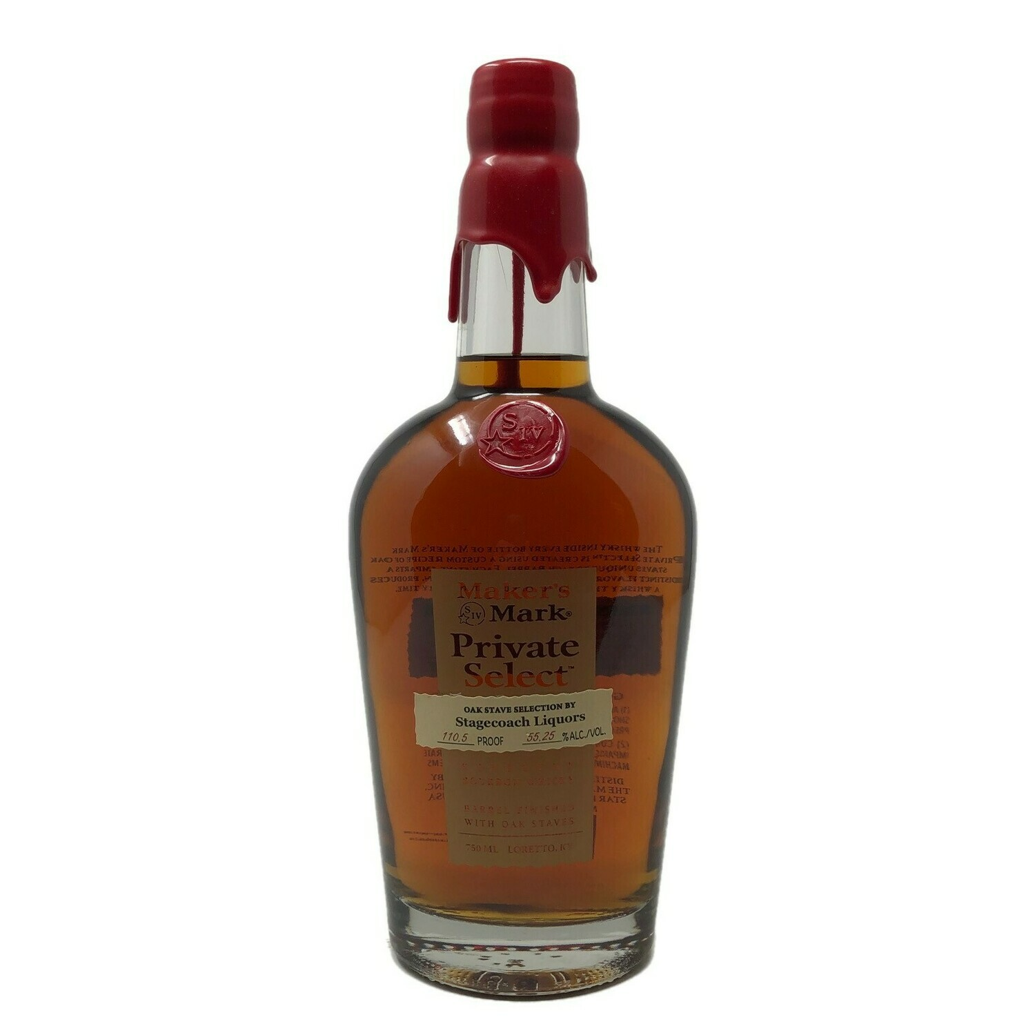 Maker's Mark Stagecoach Liquor Private Select Kentucky Bourbon Whisky