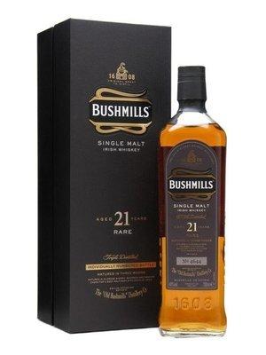 Bushmills 21 Year Rare Single Malt Irish Whiskey