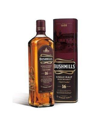 Bushmills 16 Year Rare SIngle Malt Irish Whiskey