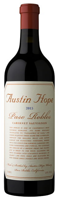 Austin Hope Paso Robles Cabernet Sauvignon 2018