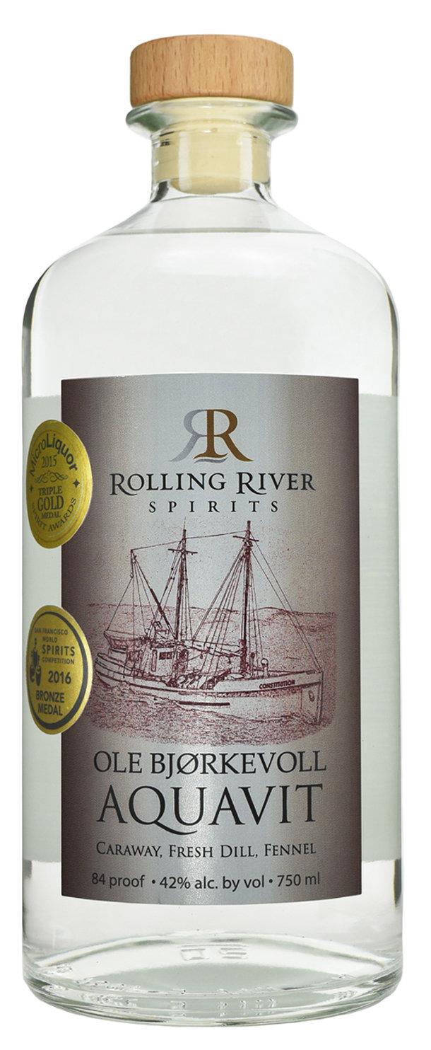 Rolling River Spirits Ole Bjorkevoll Aquavit