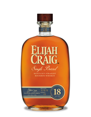Elijah Craig 18 Year Single Barrel Kentucky Straight Bourbon Whiskey