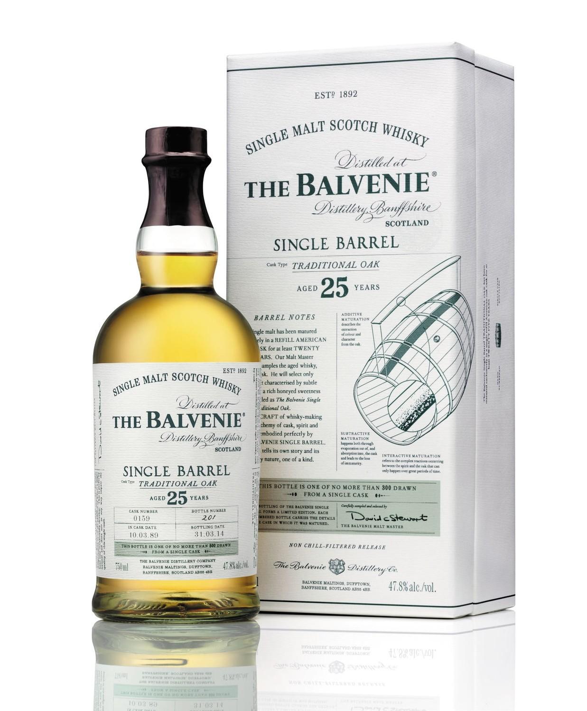 Balvenie Single Barrel 25 Year Single Malt Scotch Whisky
