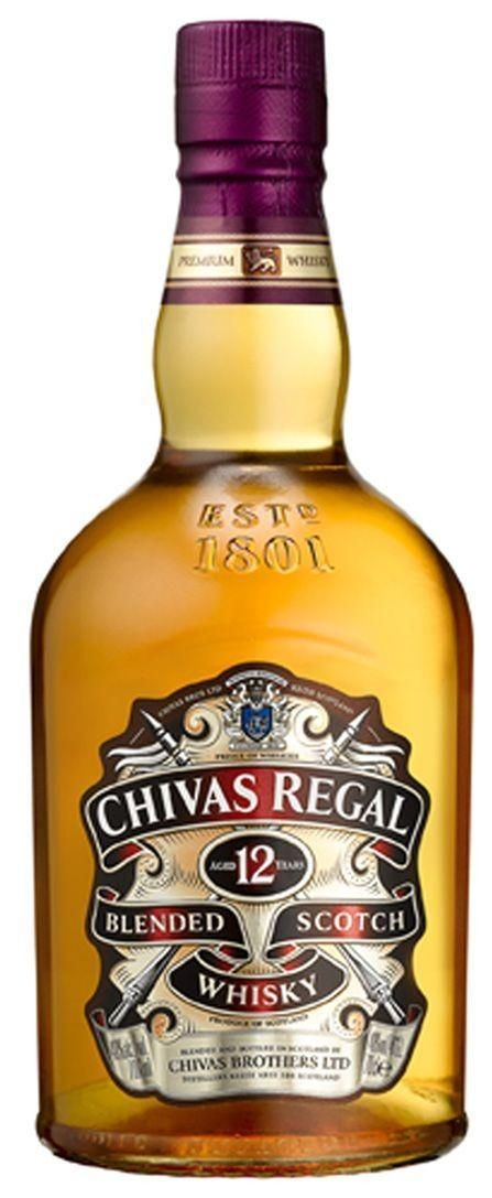 Chivas Regal 12 Year Blended Scotch Whisky (750 ML)