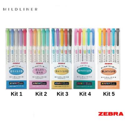 Zebra MILDLINER 5 Color