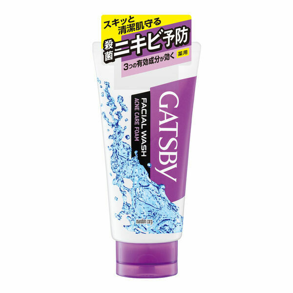 GATSBY Facial Wash Acne Care Foam
