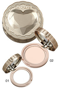 CANMAKE Secret Beauty Powder Cor: [OB-01]Silky Natural(Oil block type)​