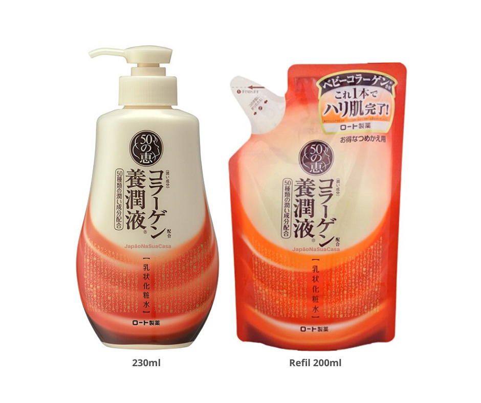 Rohto 50 Megumi Collagen Nourishing Solution