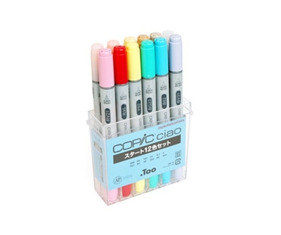 Copic Ciao 12 Color Set