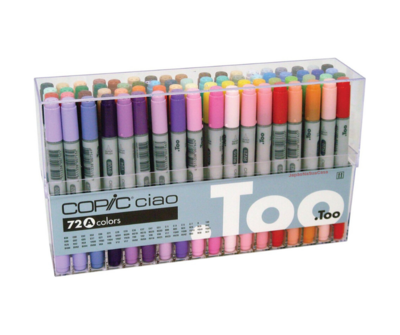 Copic Ciao 72 Color Set