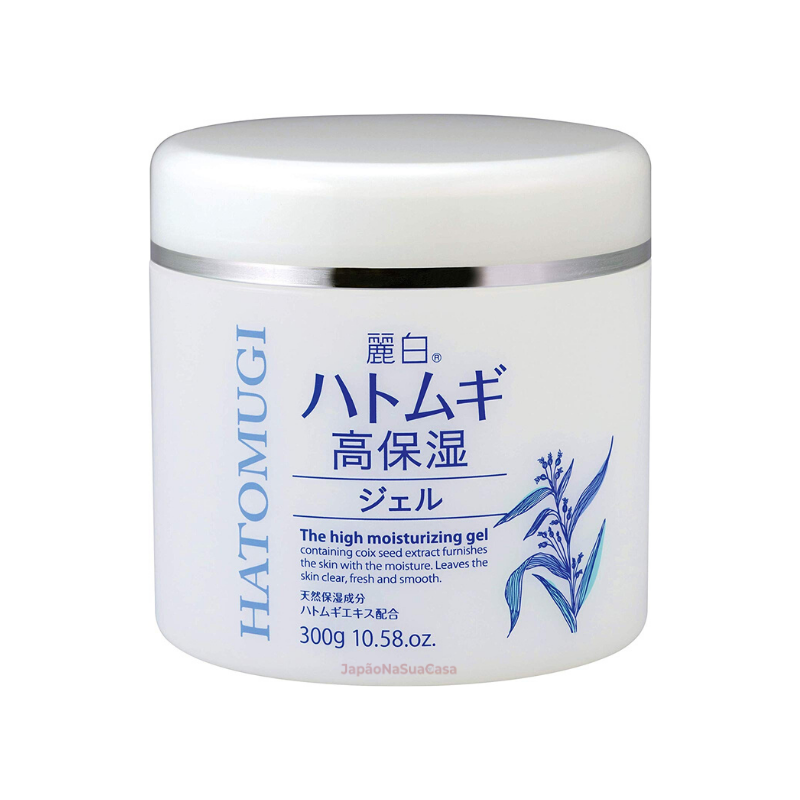 Kumano Yushi HATOMUGI The High Moisturizing Gel