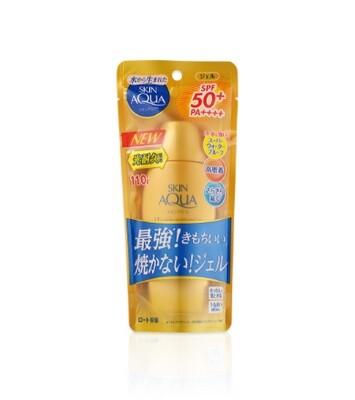 SKIN AQUA UV Super Moisture Gel Gold SPF50+ PA++++