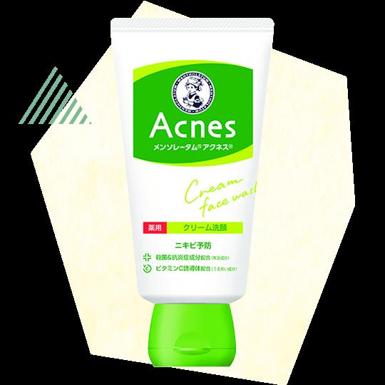 ROHTO Mentholatum ACNES Cream Face Wash (Acne care)