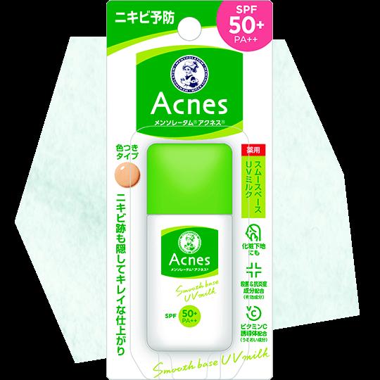 ROHTO Mentholatum Acnes Smooth UV Base Milk (Acne care)