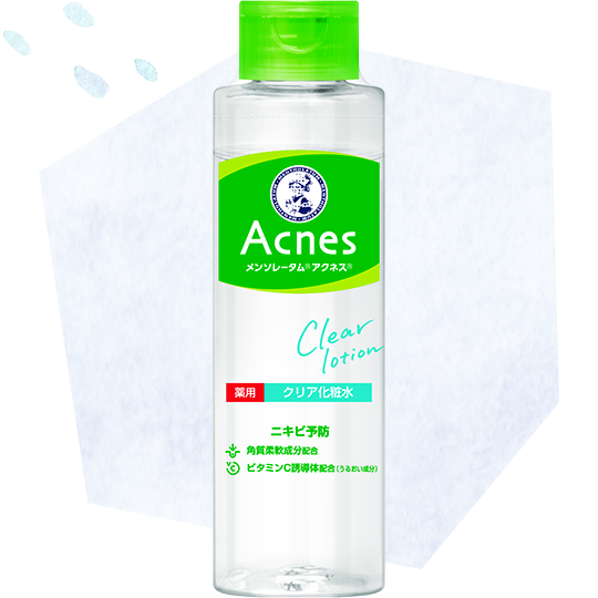 ROHTO Mentholatum Acnes Clear Lotion (Acne care)