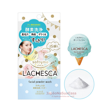 Softymo LACHESCA Facial Powder Wash