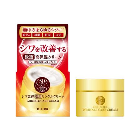 Rohto 50 Megumi Wrinkle Care Cream