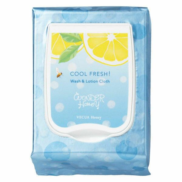 VECUA HONEY Cool Fresh Refreshing Wash & Lotion Cloth