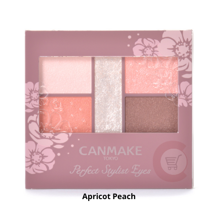 CANMAKE Perfect Stylist Eyes [Apricot Peach]