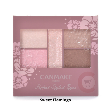CANMAKE Perfect Stylist Eyes [Sweet Flamingo]