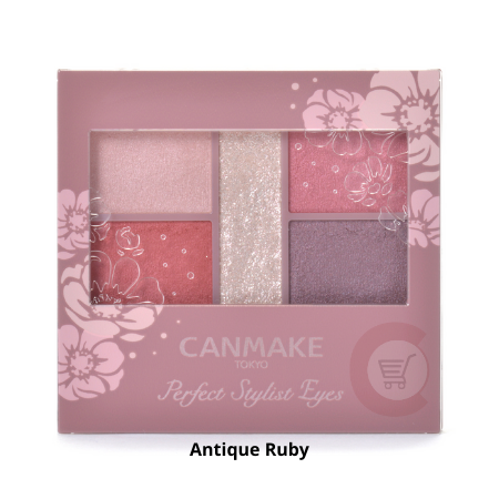 CANMAKE Perfect Stylist Eyes [Antique Ruby]