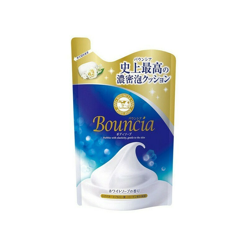 Bouncia Body Soap The Scent of White Soap Refil