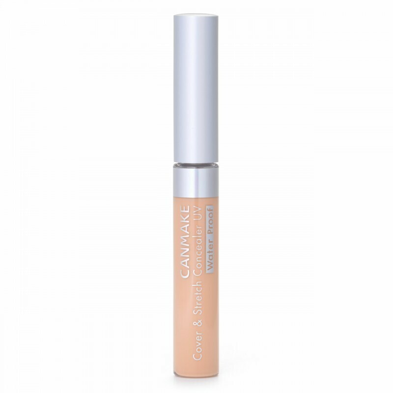 CANMAKE Cover & Stretch Concealer UV SPF25 PA++ [01]Light beige