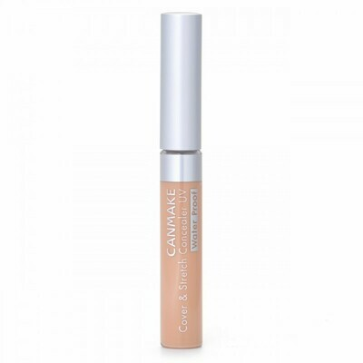 CANMAKE Cover & Stretch Concealer UV SPF25 PA++ [02]Natural Beige