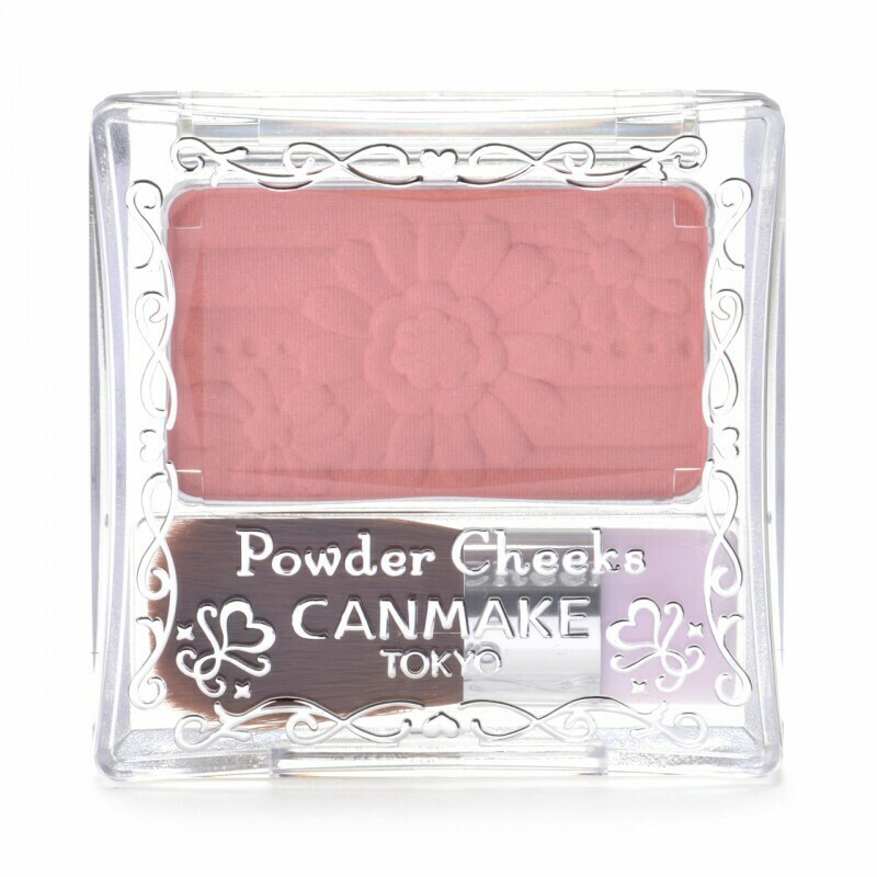 CANMAKE Powder Cheeks [PW23]Peach Pink