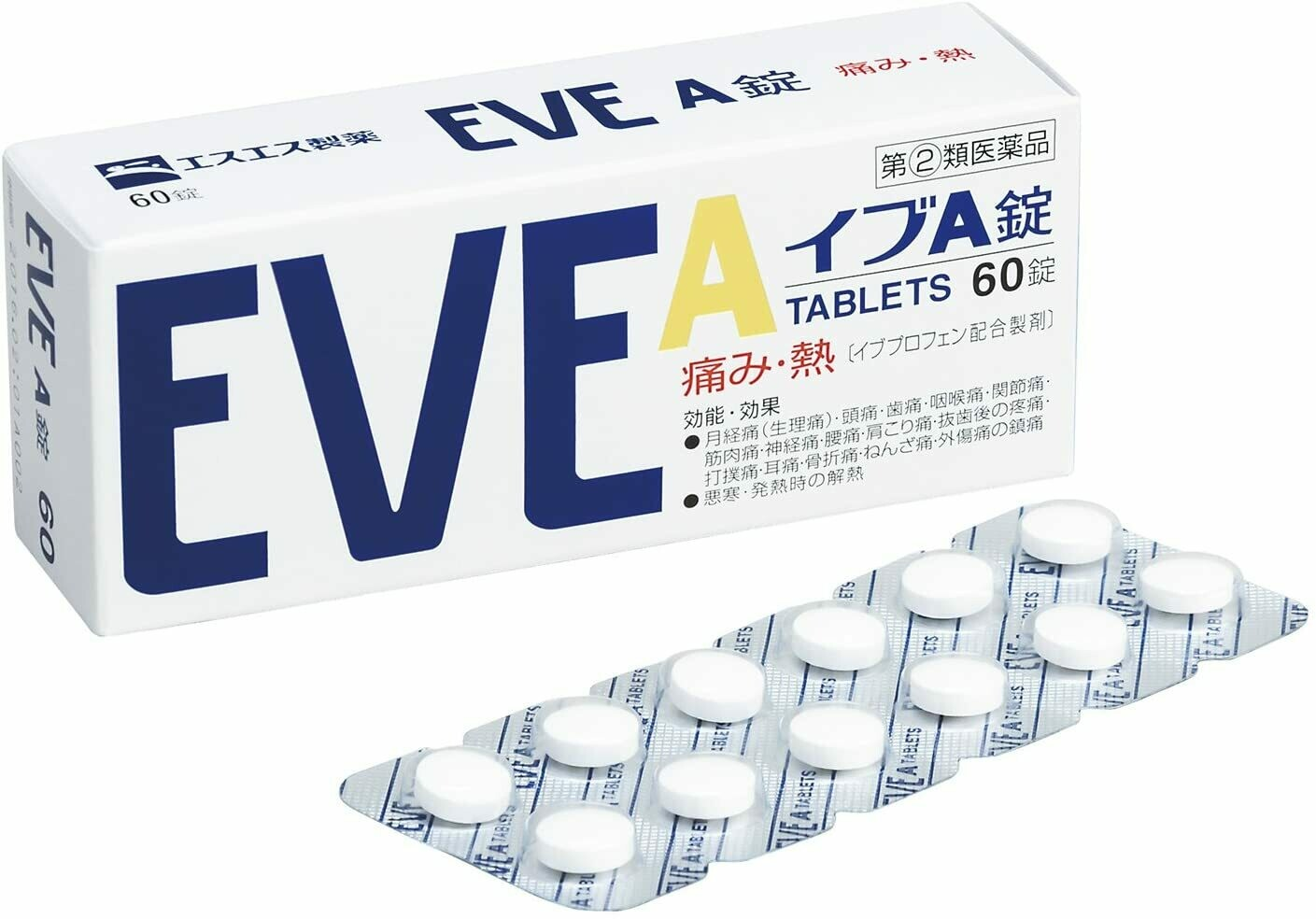 EVE A 60 tablets