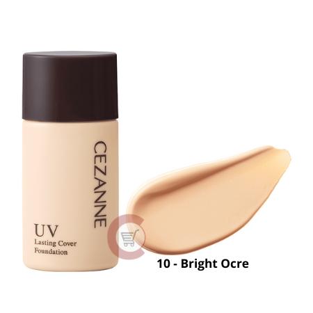 CEZANNE UV Lasting Cover Foundation SPF50+ PA+++ (20-Natural Ocre)