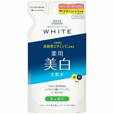 Kosé Moisture Mild WHITE Lotion L - (Refreshing Type) Refil