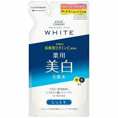 Kosé Moisture Mild WHITE Lotion M - (Moist Type) Refil