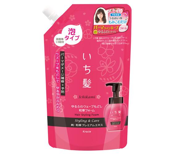 ICHIKAMI Soft and Bouncy Wave Waso Foam Refil 300ml