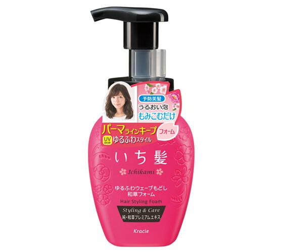 ICHIKAMI Soft and Bouncy Wave Waso Foam 200ml
