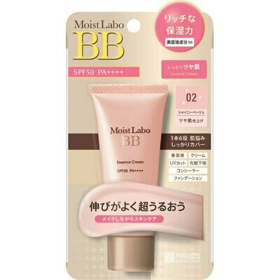 Meishoku Moist Labo BB Essence Cream SPF50 PA++++ (02-Shiny Beige)
