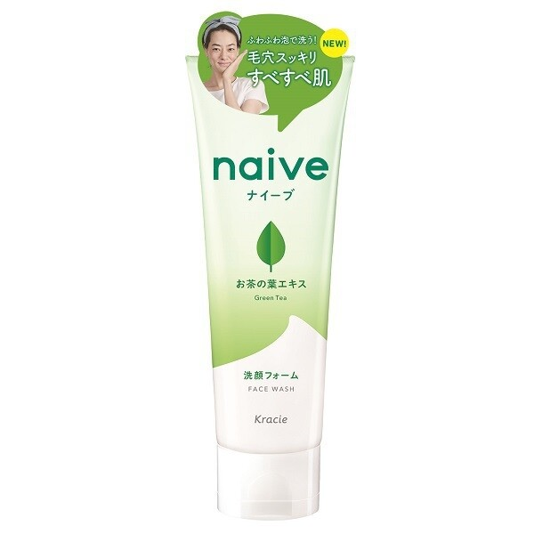 Naive Face Wash Green Tea