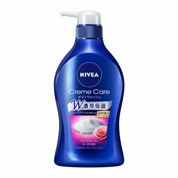 NIVEA Creme Care Body Wash - French Garden Rose Scent