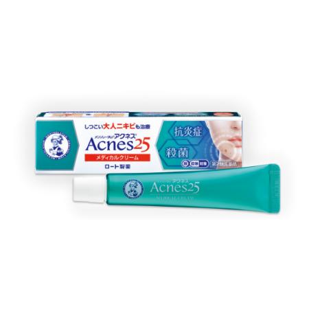 ROHTO Mentholatum Acnes25 Medical Cream