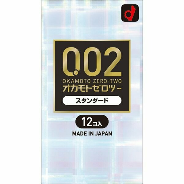 OKAMOTO ZERO-TWO 0.0.2 Standard (12 pieces)