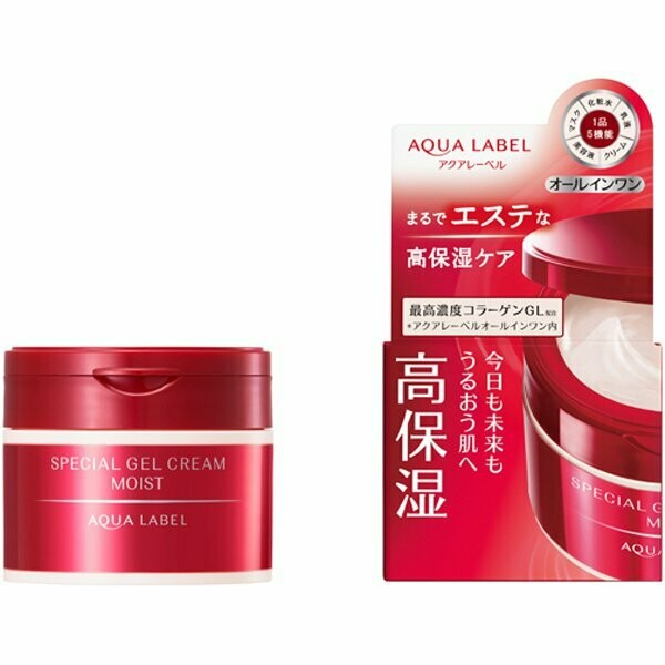 Shiseido AQUALABEL Special Gel Cream MOIST - All in One