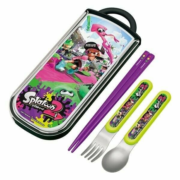 Splatoon 2 Trio Set Sliding Fork Spoon